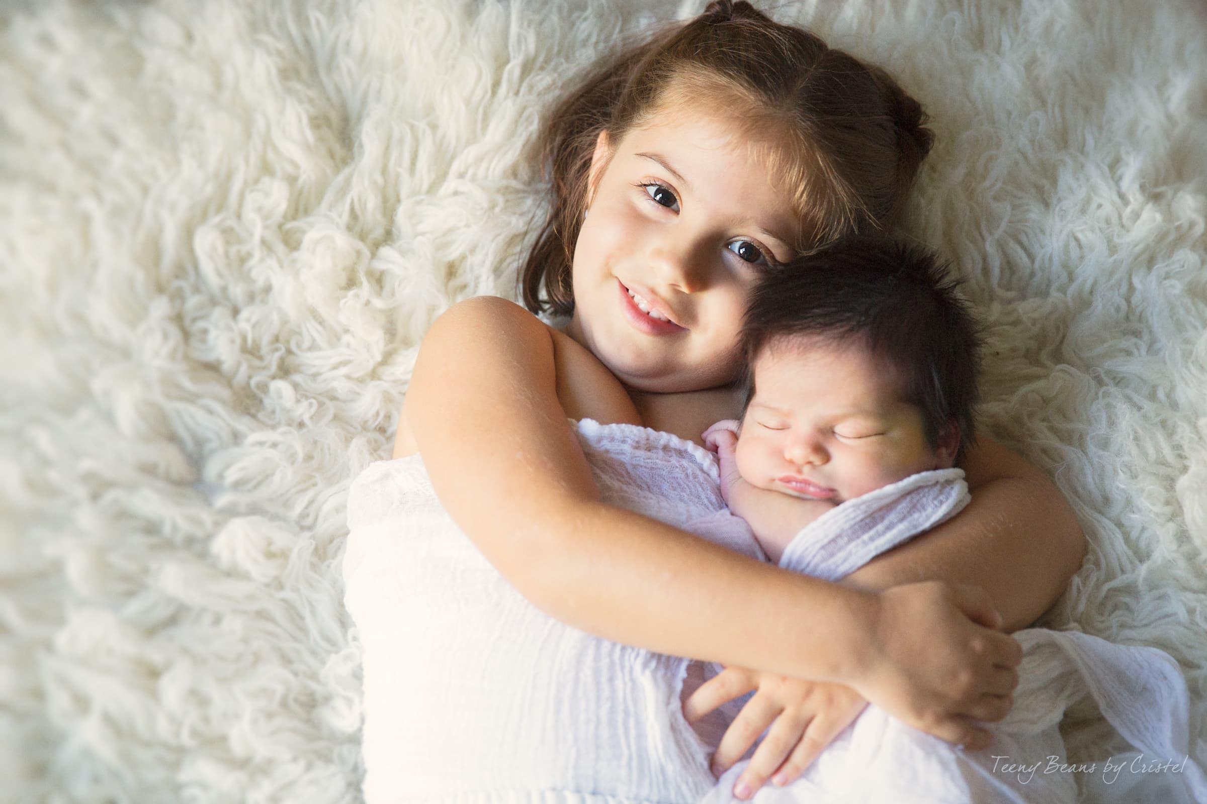 raleigh newborn photographer | baby Emma