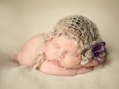 raleigh newborn photographer - baby isabella