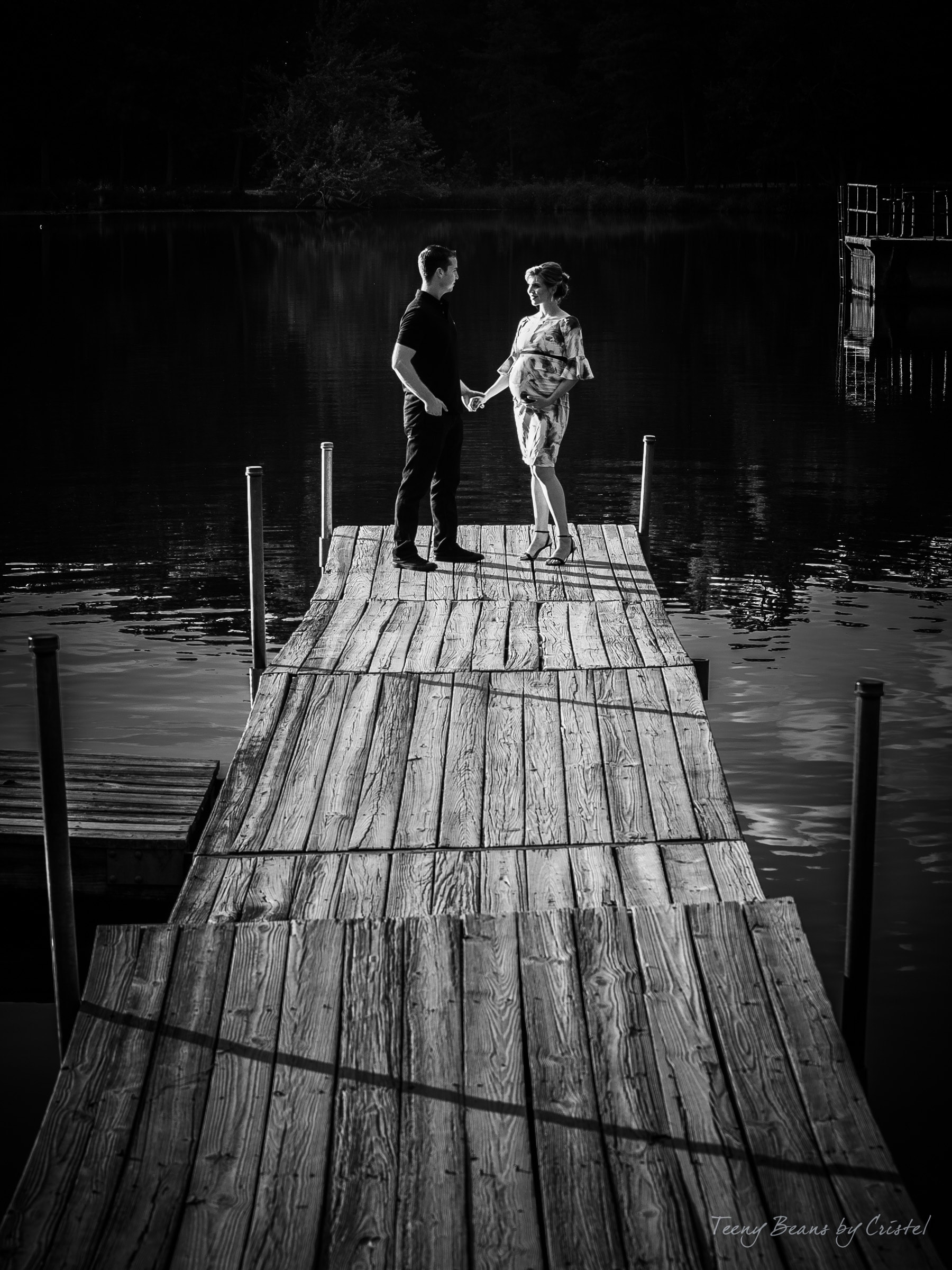 southern pines maternity photographer – axia & zach