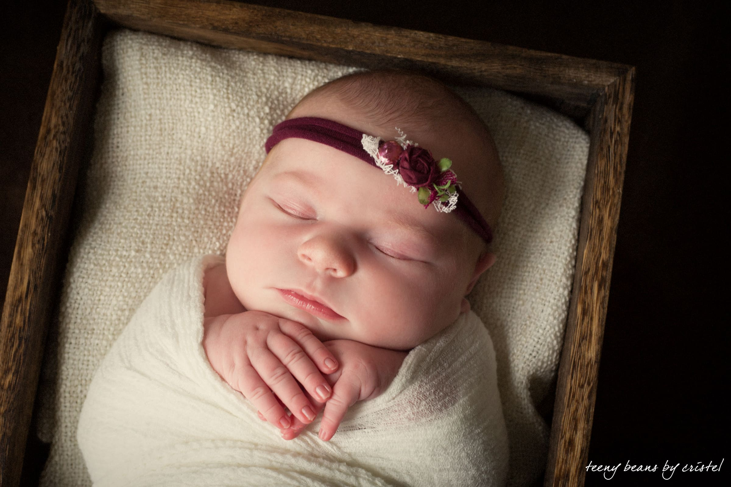 raleigh newborn photography – baby reagan
