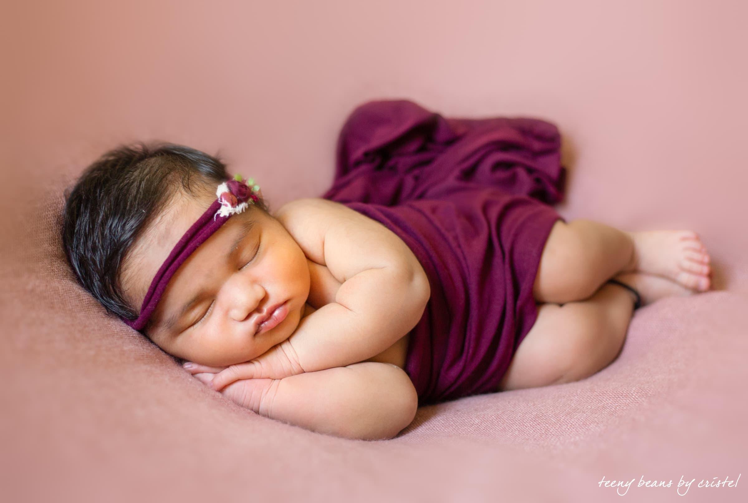 AarnaBabyJpeg-8 raleigh newborn photographer - baby aarna