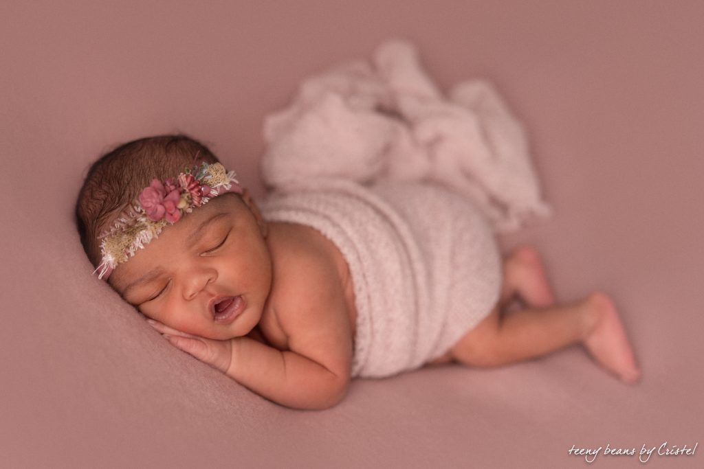 raleigh newborn photographer – baby addison