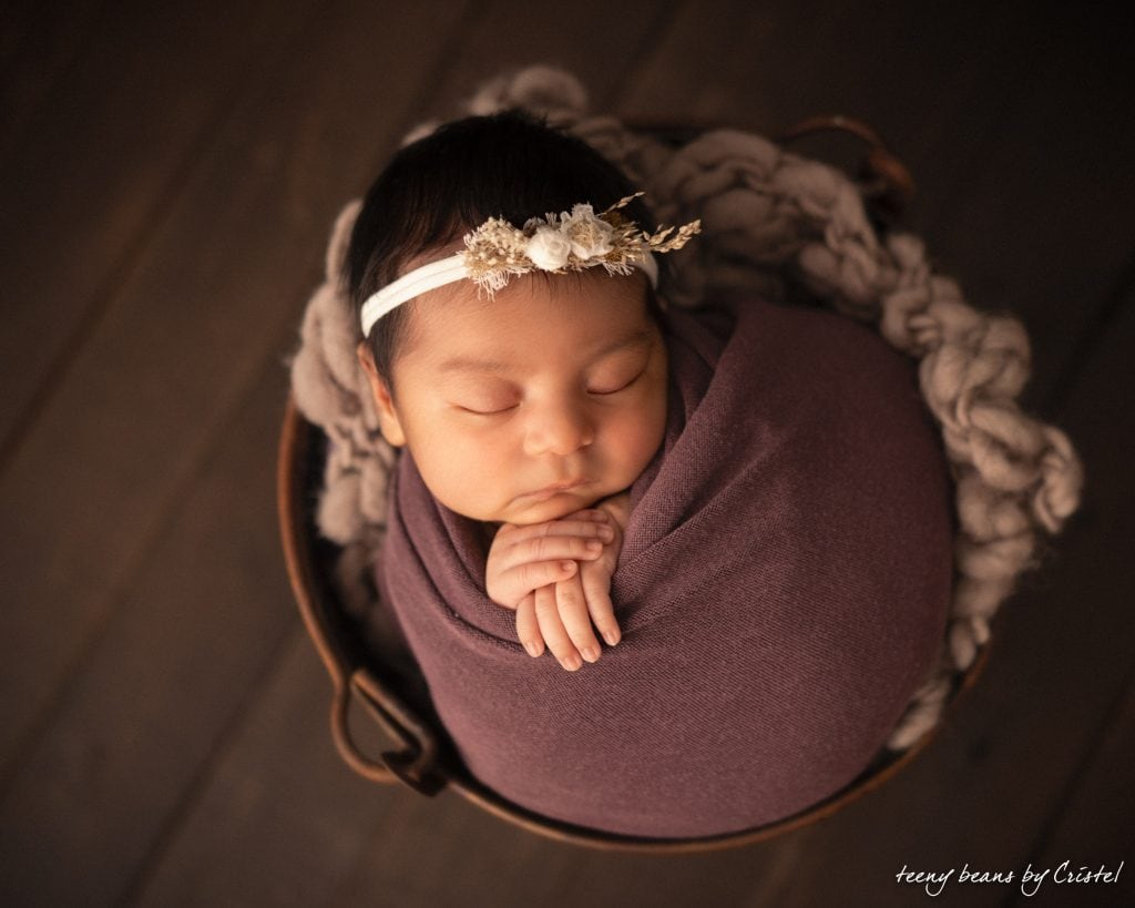 raleigh newborn photographer – baby natalie