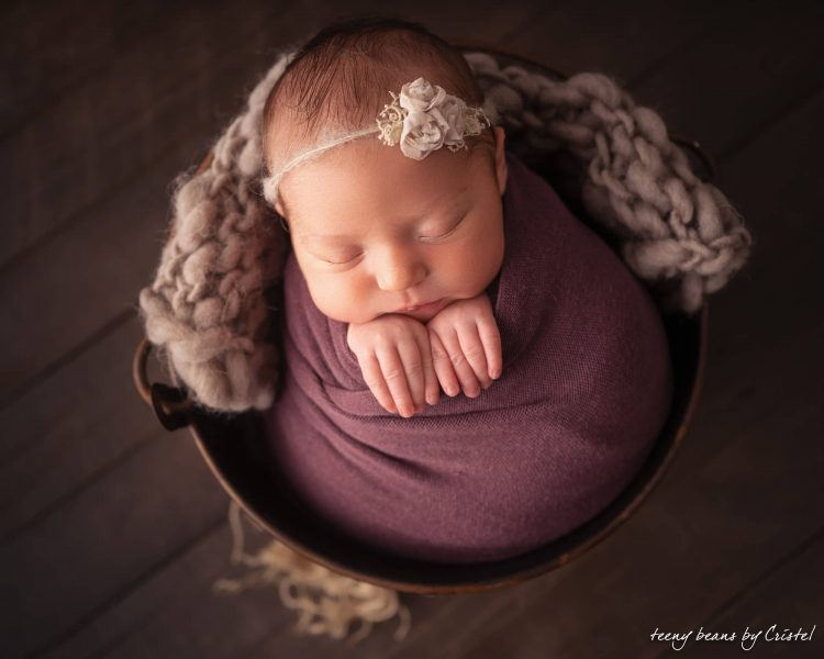 raleigh newborn photographer - baby isabella 3