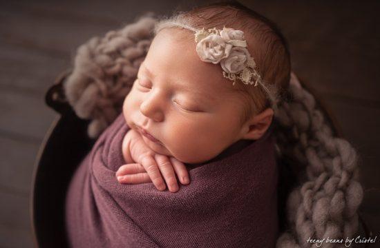 raleigh newborn photographer – baby isabella