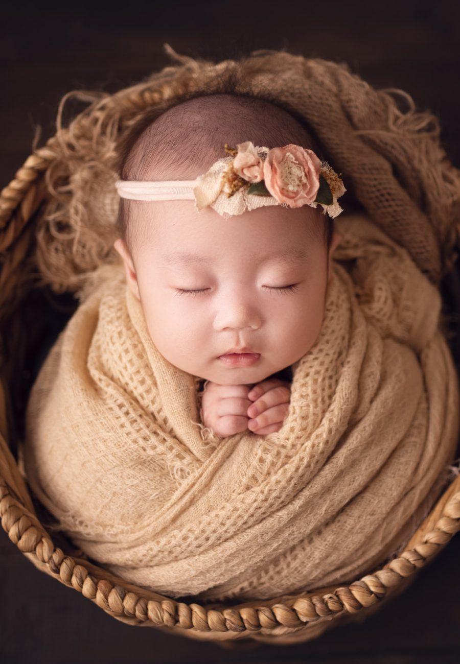 raleigh baby photographer – baby charlotte