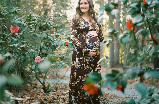 duke gardens maternity session – stephanie