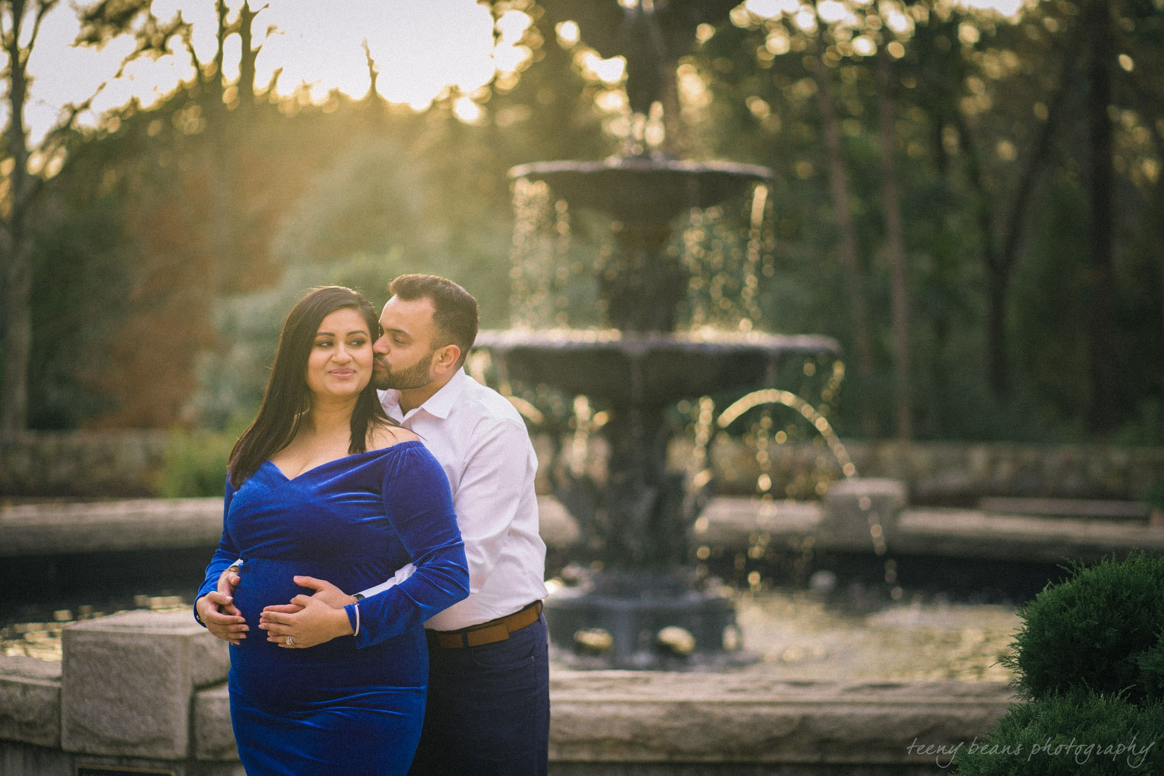 duke gardens maternity portrait photography yashika 11