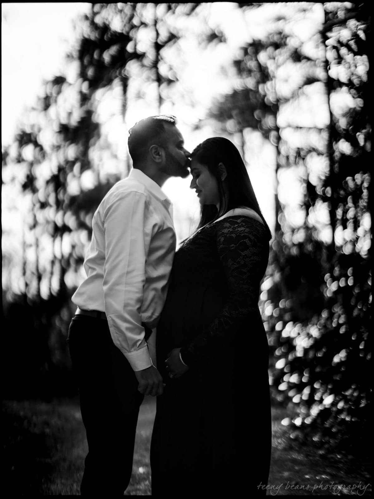 duke gardens maternity portrait photography yashika 7