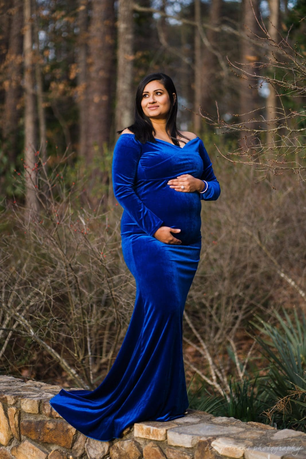 duke gardens maternity portrait photography yashika 8