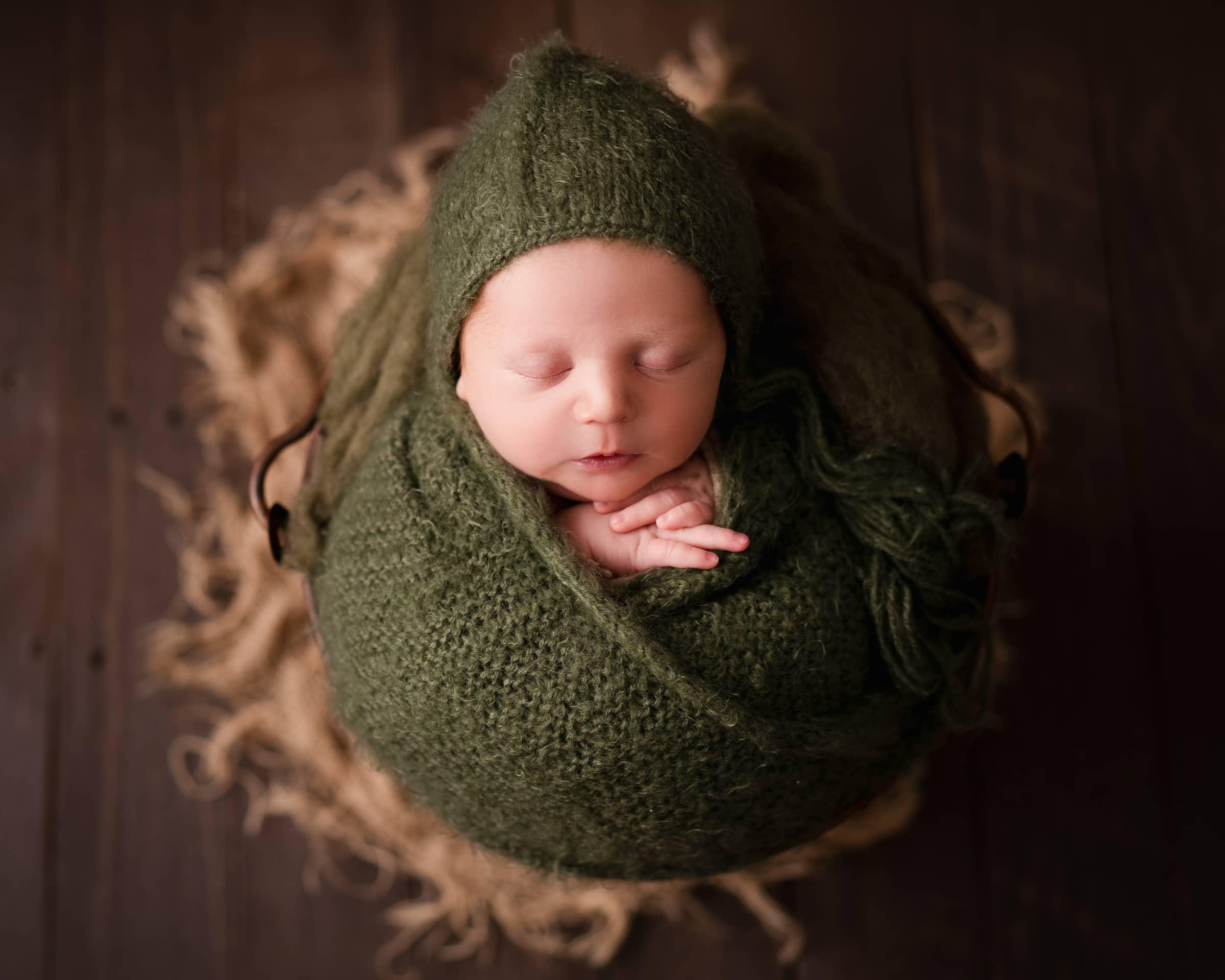 raleigh newborn photographer - baby barrett 1