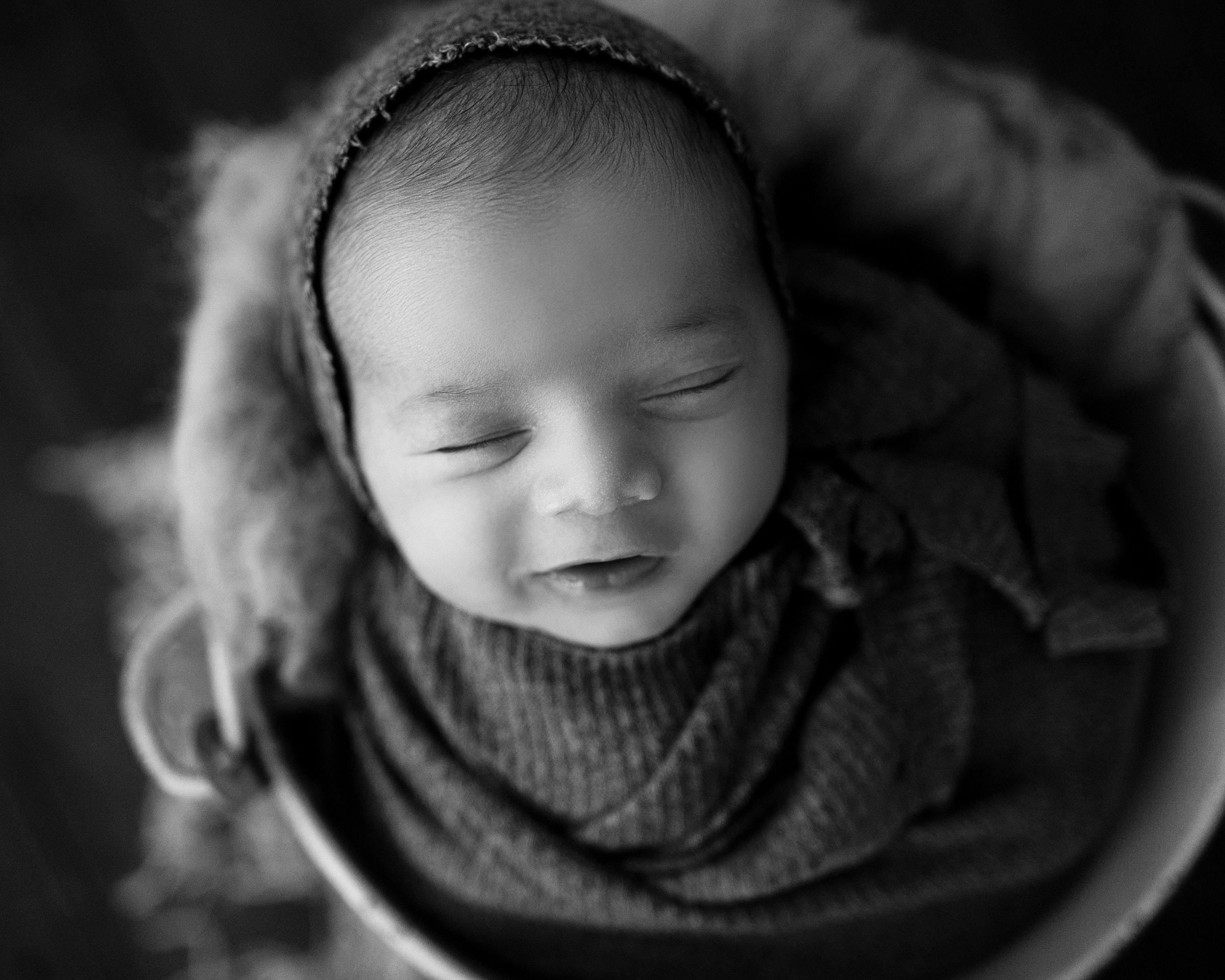 raleigh newborn photographer - baby kian 3