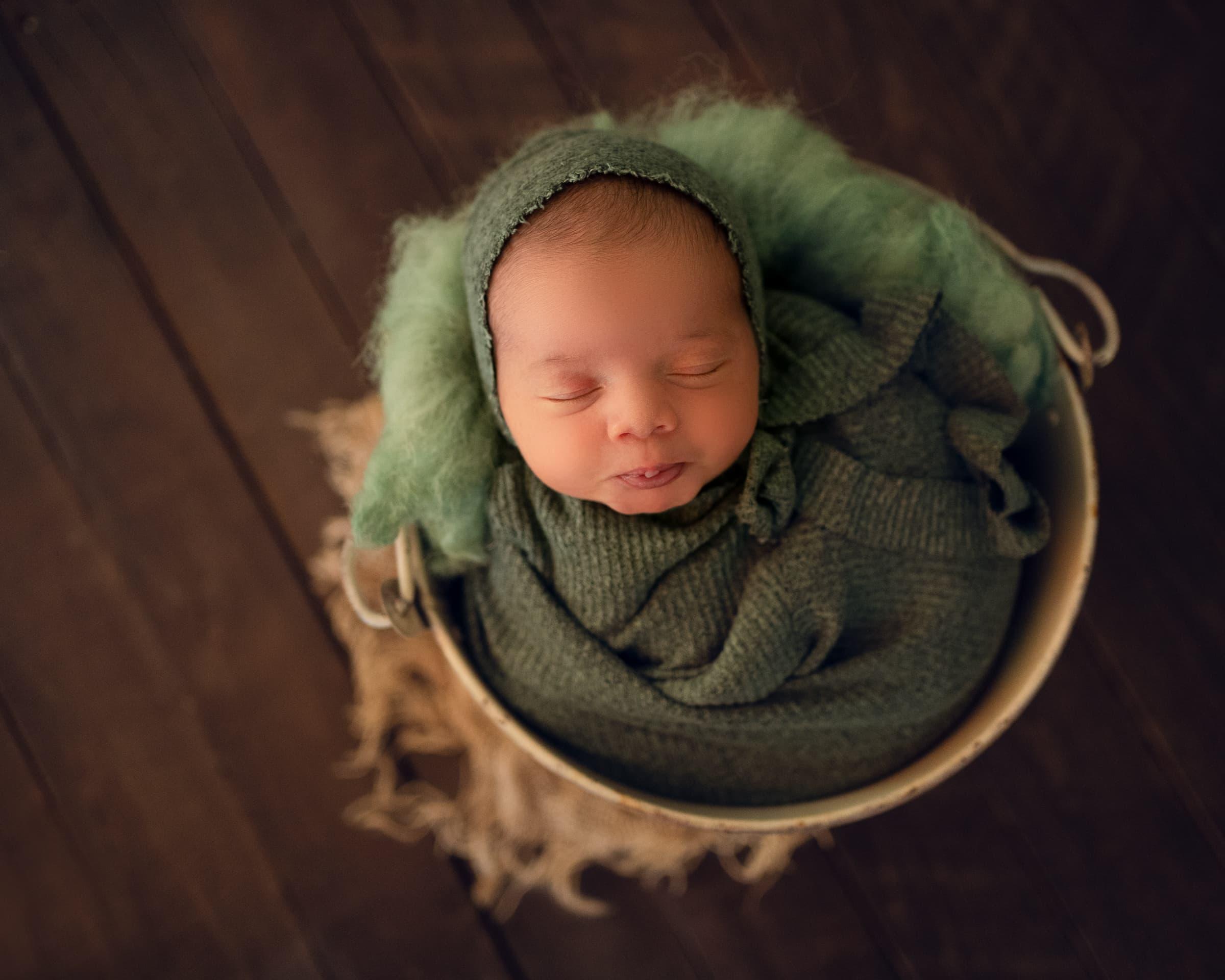 raleigh newborn photographer - baby kian 1