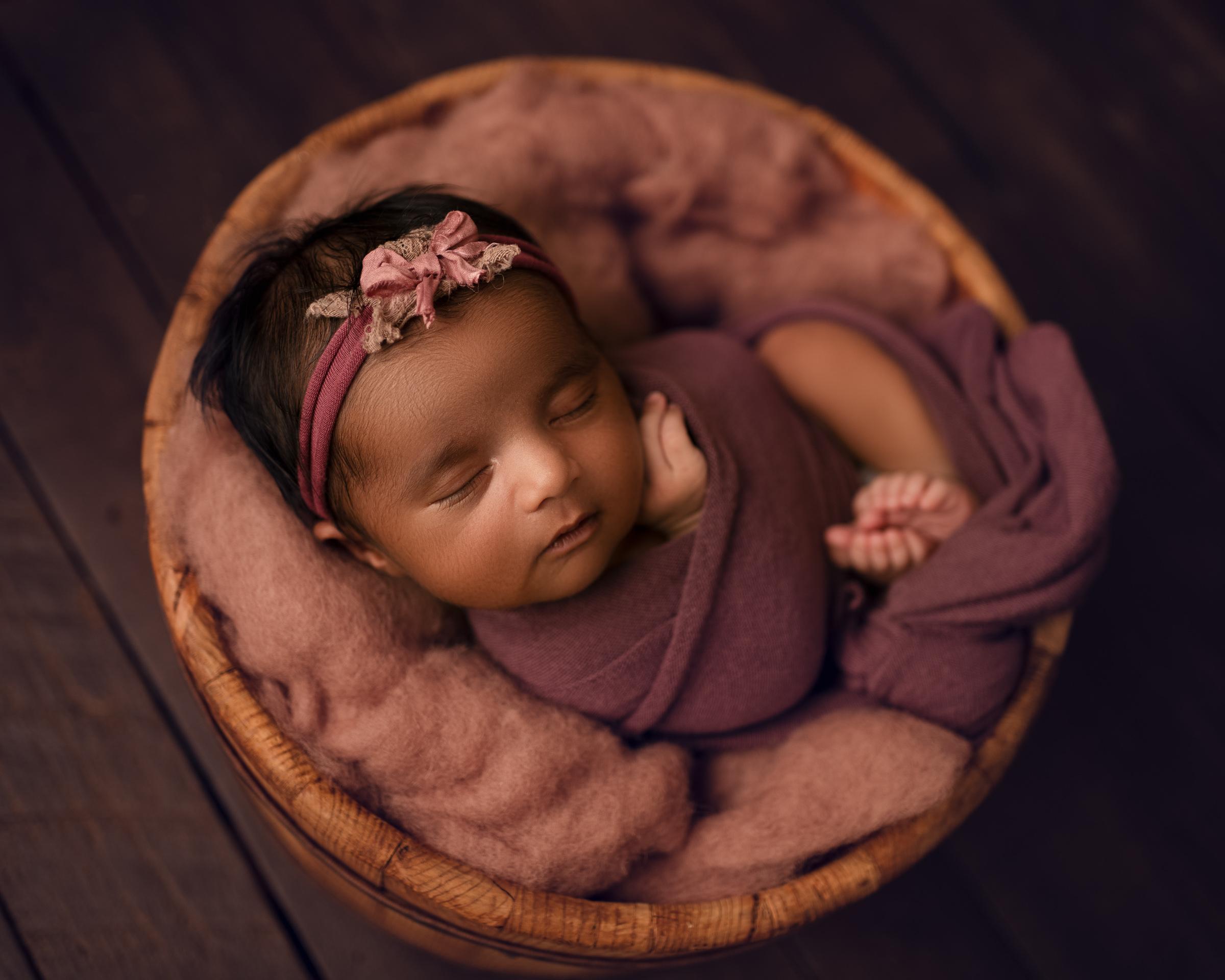 Raleigh Newborn Photographer - Meera 5