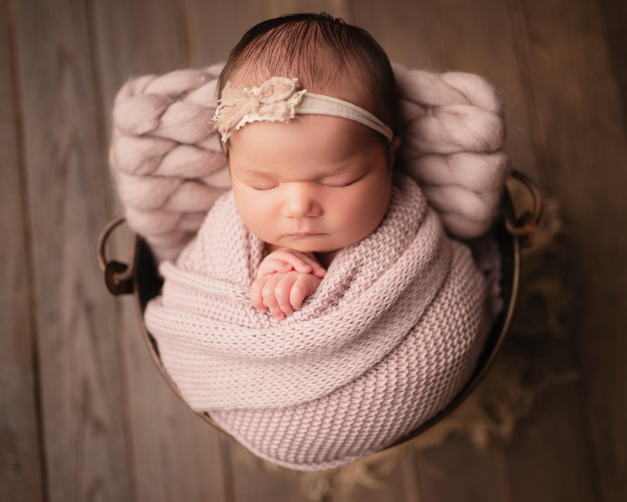 raleigh newborn photographer - baby helena 6