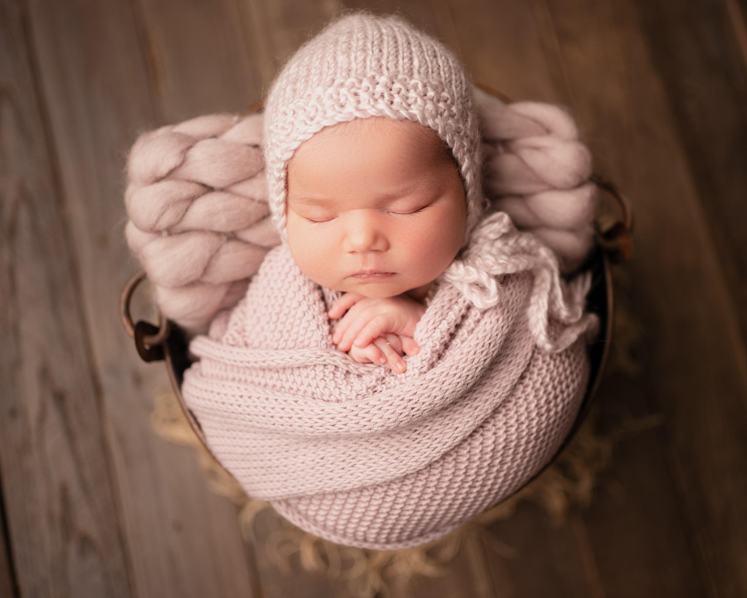 raleigh newborn photographer - baby helena 7