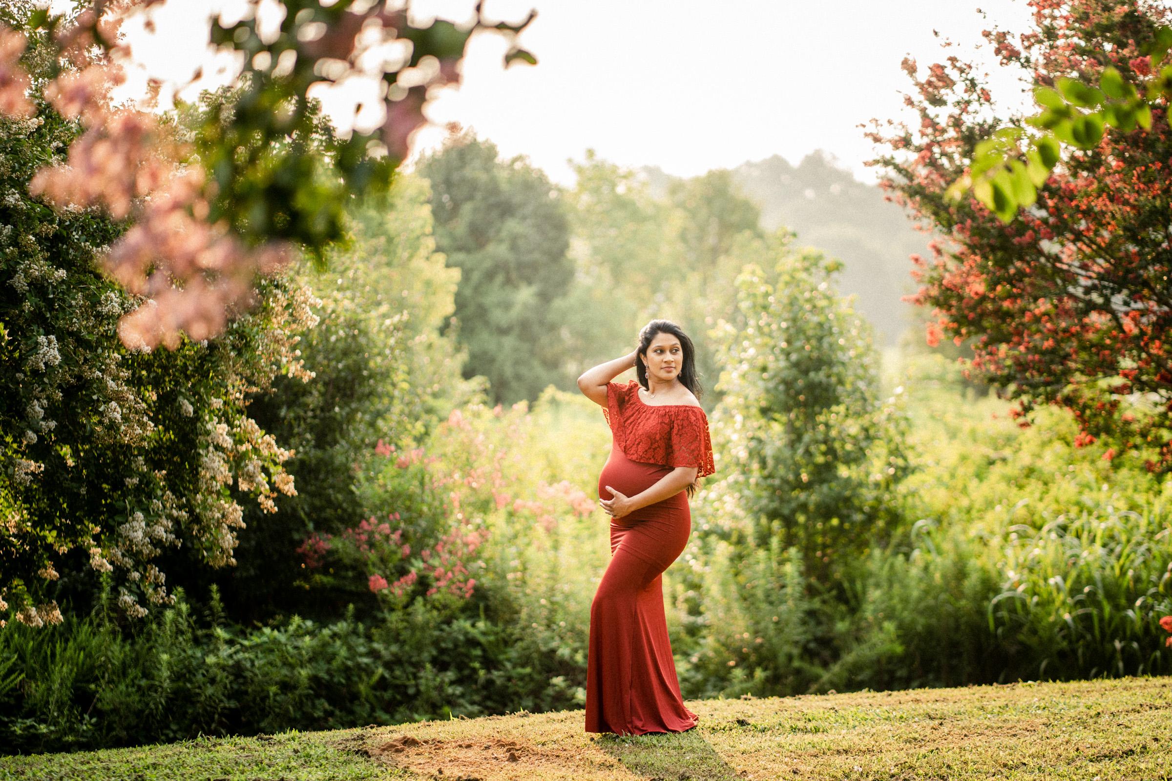 Raleigh Maternity Photographer Neha 11